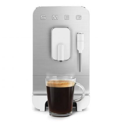 Espressor automat Smeg 50's Style BCC02WHMEU, alb, 8 preparate