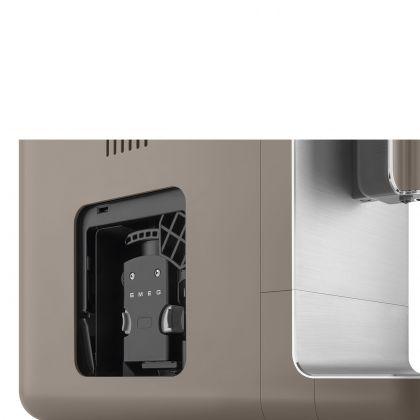 Espressor automat Smeg 50's Style BCC02TPMEU, gri inchis, 8 preparate