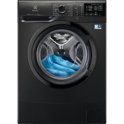 Masina de spalat rufe Electrolux PerfectCare600 EW6S406BXI, 6 kg, 1000 rpm, clasa D, Inverter, SensiCare, Dark Silver