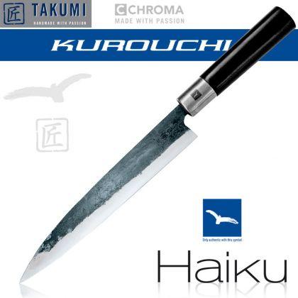 Cutit utilitar Chroma Haiku - Kurouchi B-09 Ko-Yanagi, 21 cm, Blue Steel, forjat manual