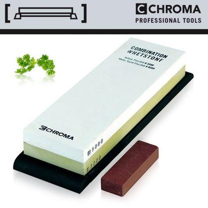 Piatra ceramica cutite CHROMA Whetstone ST-3/8, granulatie 3000/8000