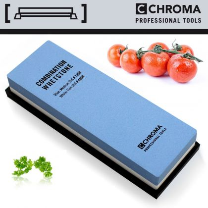 Piatra ceramica cutite CHROMA Whetstone ST-12/4, granulatie 1200/4000