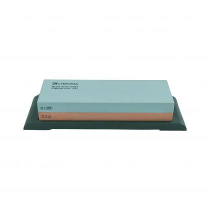 Piatra ceramica cutite CHROMA Whetstone ST-1800L, granulatie 240/1000