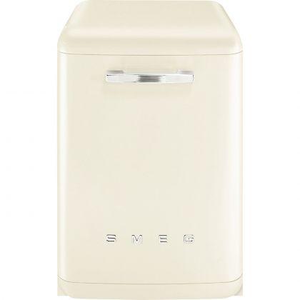 Masina de spalat vase retro Smeg LVFABCR3, crem, 11 programe