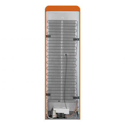 Combina frigorifica retro Smeg FAB32ROR5, No Frost, clasa D, balamale pe dreapta, portocaliu
