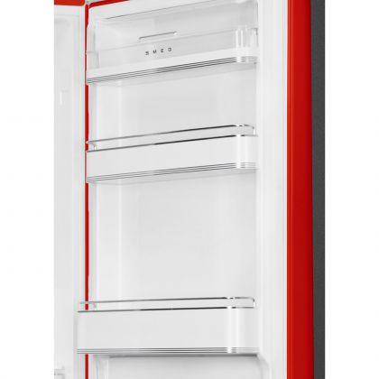 Combina frigorifica retro Smeg FAB32RRD5, No Frost, clasa D, rosu, balamale pe dreapta