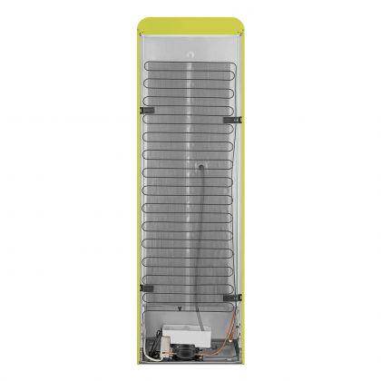 Combina frigorifica retro Smeg FAB32RLI5, No Frost, clasa D, verde lime , balamale pe dreapta