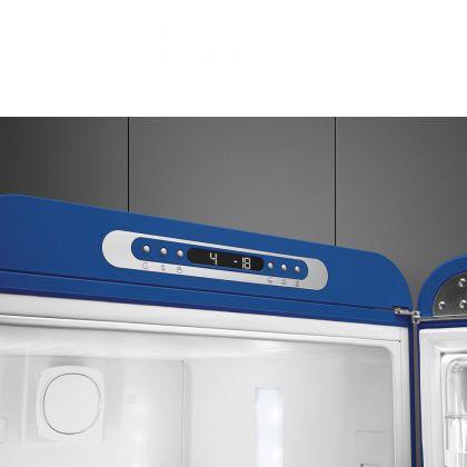 Combina frigorifica retro Smeg FAB32RBE5, No Frost, clasa D, Albastru , balamale pe dreapta