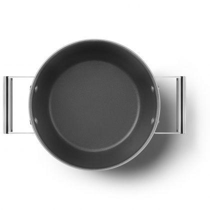 Oala retro Smeg 50's Style CKFC2411CRM, crem, 24 cm