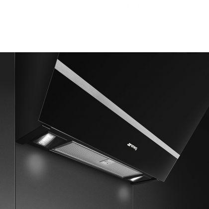 Hota de perete Smeg KV26N, 60 cm, neagra