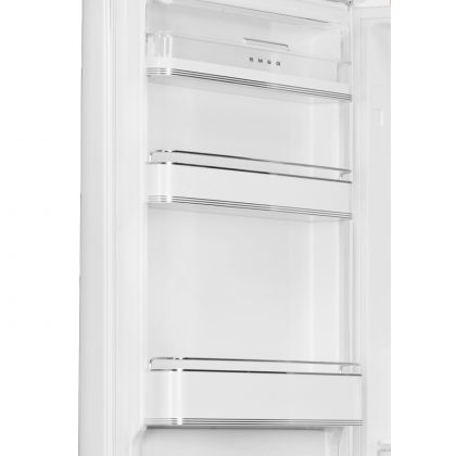 Combina frigorifica retro Smeg FAB32LWH5, No Frost, clasa D, alb, balamale pe stanga