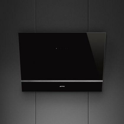Hota de perete Smeg KV28N, 80 cm, neagra