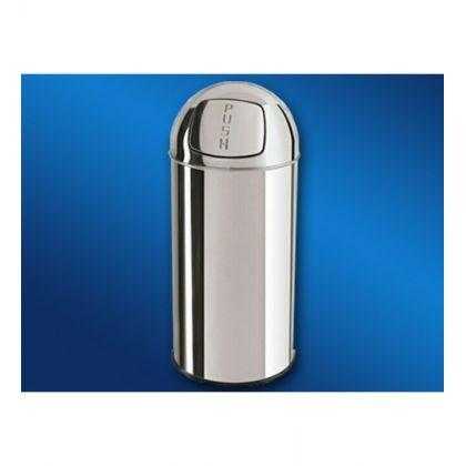 Cos de gunoi inox Push-Bin Limpio CX-50LP