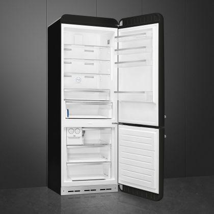 Combina frigorifica retro Smeg FAB38RBL5, 70 cm latime, Total No Frost