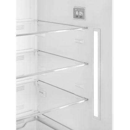 Combina frigorifica retro Smeg FAB38RPB5, 70 cm latime, Total No Frost, albastru pal