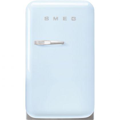 Frigider minibar retro Smeg FAB5RPB5, albastru pal, static