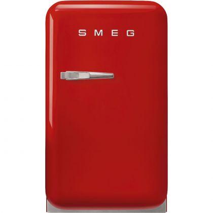 Frigider minibar retro Smeg FAB5RRD5, rosu, static