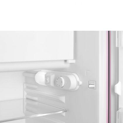 Frigider minibar retro Smeg FAB10RPK5, roz, static