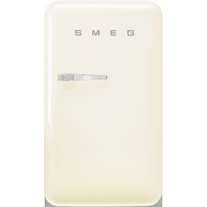 Frigider minibar retro Smeg FAB10RCR5, crem, static