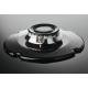 Plita incorporabila pe gaz Zanussi ZGO68410BA, 60 cm, Neagra, gratare de fonta