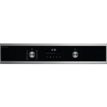 Cuptor incorporabil electric cu abur Electrolux EOD6P66WX, SteamBake, WiFi, Gatire MultiLevel, functie Grill, 72 L, Autocuratare Pirolitica, Clasa A+, Inox