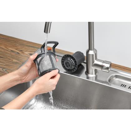Masina de spalat vase incorporabila Electrolux EEM63301L, 45 cm, 10 seturi, 8 programe, Inverter, clasa D, TimeBeam®