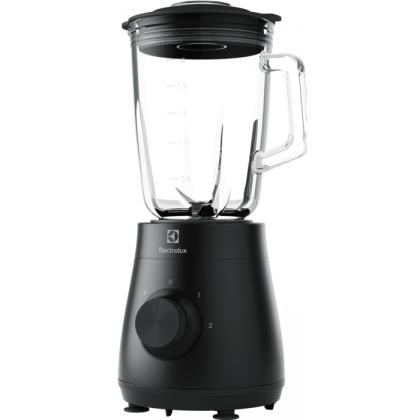 Blender Electrolux E3TB1-4GG, 500 W, 2 viteze + PULSE, cana sticla termo-rezistenta, 1,5 litri, negru