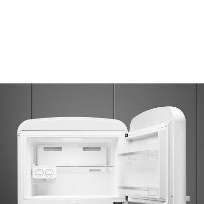 Frigider cu 2 usi retro Smeg FAB50RWH5, No Frost, 80 cm latime, alb