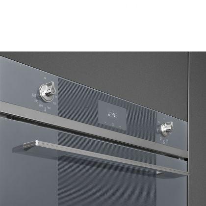 Cuptor incorporabil electric Smeg Linea SF6100VS1, silver, 6 functii