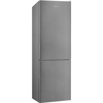 Combina frigorifica Smeg FC18EN1X, 60 cm latime, Total No Frost, Clasa E, inox