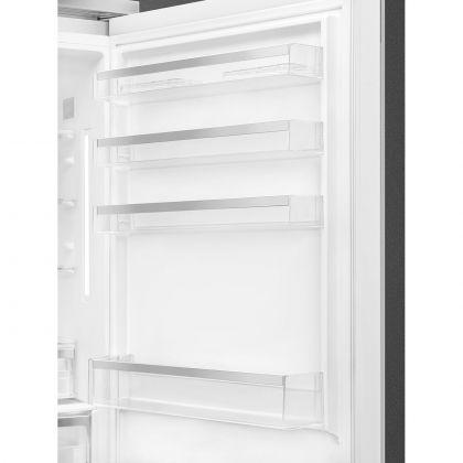 Combina frigorifica retro Smeg Portofino FA490RWH5, Total No Frost, 70 cm, clasa E, alba