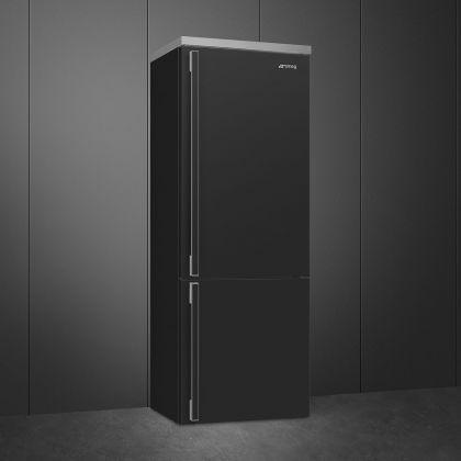 Combina frigorifica retro Smeg Portofino FA490RAN5, Total No Frost, 70 cm, clasa E, antracit