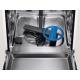 Masina de spalat vase partial incorporabila Electrolux EEM48300IX, AirDry, MaxiFlex, 14 seturi, 8 programe, 60 cm, Inverter, clasa D