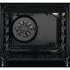Aragaz mixt Electrolux LKK520002K, 54 L, 4 arzatoare gaz, 5 functii, 50 cm, clasa A, negru