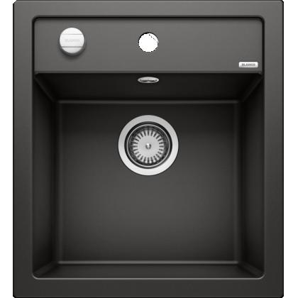 Chiuveta BLANCO DALAGO 45, silgranit, neagra, 46 cm, 525869