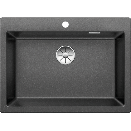 Chiuveta BLANCO PLEON 8 Silgranit InFino, antracit, 70 cm, 523043
