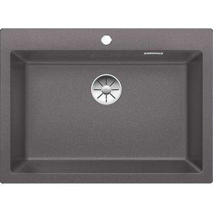 Chiuveta BLANCO PLEON 8 Silgranit InFino, gri piatra, 70 cm, 523044