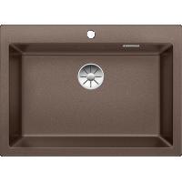 Chiuveta BLANCO PLEON 8 Silgranit InFino, cafea, 70 cm, 523052