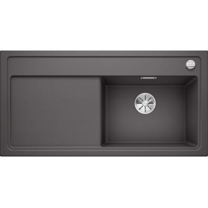 Chiuveta BLANCO ZENAR XL 6 S Silgranit InFino, gri piatra, 100 cm, 523965
