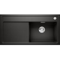 Chiuveta BLANCO ZENAR XL 6 S Silgranit InFino, neagra, 100 cm, 526062