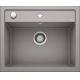 Chiuveta BLANCO DALAGO 6, silgranit, alumetalic, 60 cm, 514198