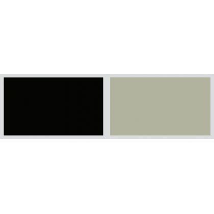 Panou antistropire AluSplash gama Elegance Stardust Black / Sandy Steps, 564.64.227, 3300x750 mm, 4 mm grosime, suprafata lucioasa