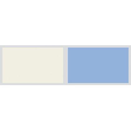 Panou antistropire AluSplash gama Elegance Ivory Mist / Sky Blue, 564.64.200, 4100x750 mm, 4 mm grosime, suprafata lucioasa