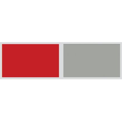 Panou antistropire AluSplash gama Elegance Juicy Red / Space Silver , 564.64.020, 4100x750 mm, 4 mm grosime, suprafata lucioasa