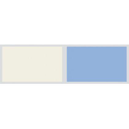 Panou antistropire AluSplash gama Elegance Ivory Mist / Sky Blue, 564.64.201, 2050x750 mm, 4 mm grosime, suprafata lucioasa