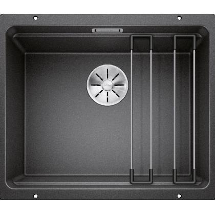 Chiuveta cu montare sub blat BLANCO ETAGON 500-U InFino, silgranit, antracit, 50 cm, 522227