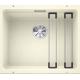 Chiuveta cu montare sub blat BLANCO ETAGON 500-U InFino, silgranit, jasmin, 50 cm, 522232