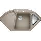 Chiuveta bucatarie pe colt BLANCO DELTA II, silgranit, 45 cm, trufe, 523666