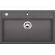 Chiuveta bucatarie BLANCO DALAGO 8, silgranit, gri piatra, 80 cm, 518852