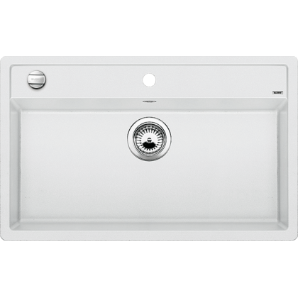 Chiuveta bucatarie BLANCO DALAGO 8, silgranit, alb, 80 cm, 516633
